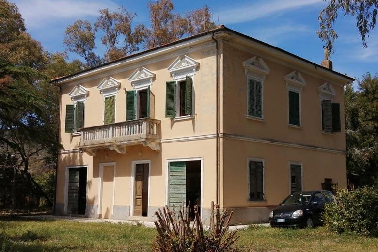 Villa antica all'Isola d'Elba